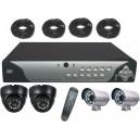 KIT CCTV enregistreur + 4 caméras infrarouge